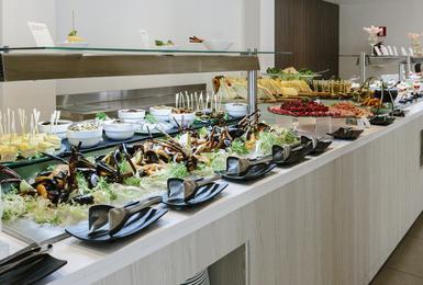 Buffet Hôtel AluaSoul Mallorca Resort (Adultes Seulement) Cala d'Or, Mallorca